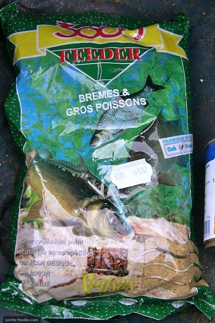 Amorce Sensas pour la pêche au feeder