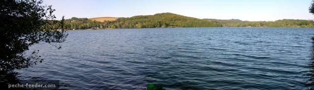 Panaorama du lac de Villefranche de Panat