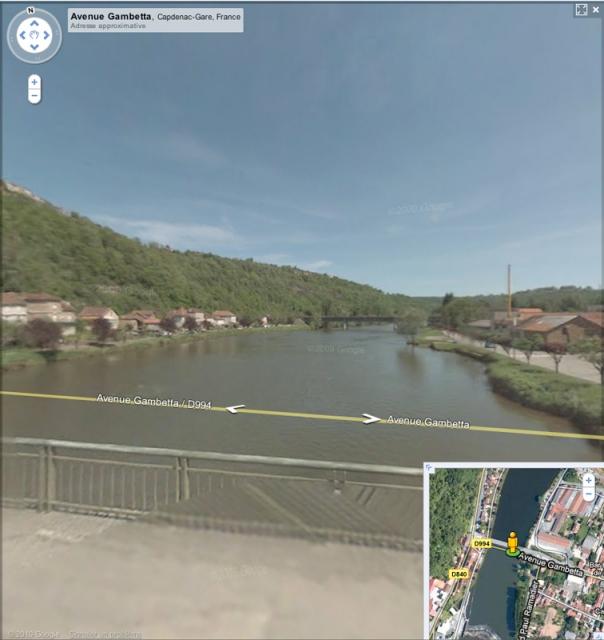 Street view et coin de pêche