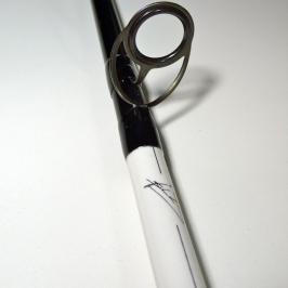 Le premier anneau est adapté à la pêche longue distance
