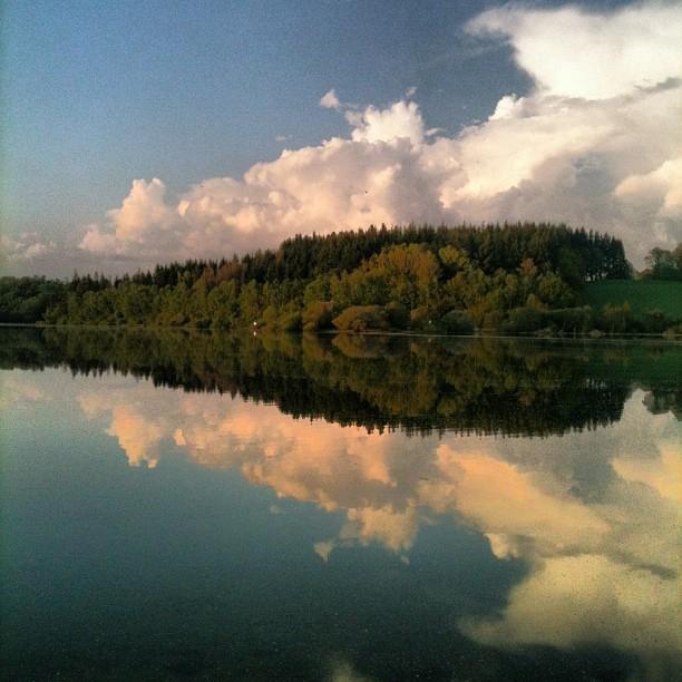 Le lac de Pareloup Mai 2012