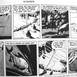 Apprendre à pêcher la brème au flotteur avec Mr. Crabtree Goes Fishing - Bande dessinée sur la pêche