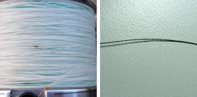 différence entre la tresse et le nanofil de berkley