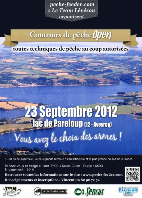 concours open de Pareloup Aveyron