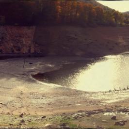 selvel-lac-de-maury-selve-aveyron - Photos du Lac de Maury en période basse eaux
