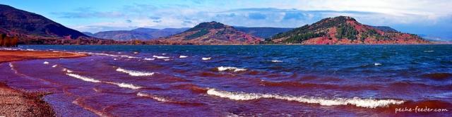 lac-du-salagou-plage de clermont l'herault
