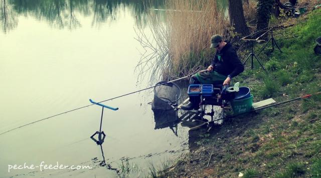 Pêcheur au quiver