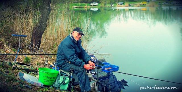 Philippe Cambon champion de pêche au feeder