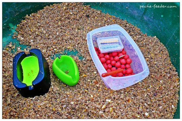Amorce pour la pêche au method feeder