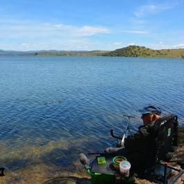 Pêche au feeder à Orellana