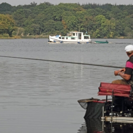 Boat-traffic-distracts-four-times-individual-World-Champion-Bob-Nudd-on-Lough-Scur---low-res