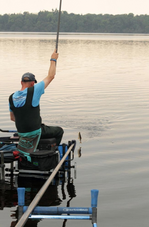 Darren-Cox-swings-a-bonus-fish-from-Garadice---low-res
