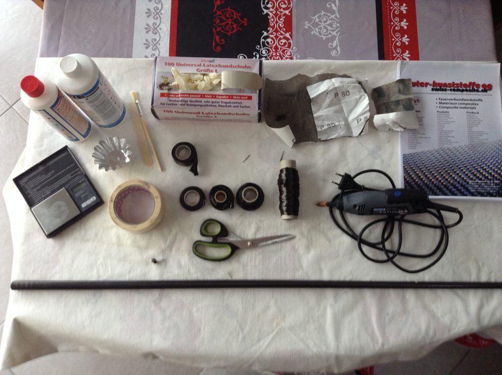 kit strippa le matériel pour le réaliser