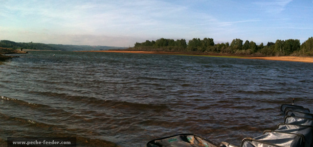 Pêche par grand vent