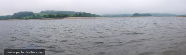 Pêche au feeder au lac de Pareloup