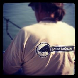 t-shirt de pêche peche-feeder.com