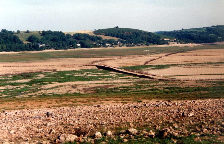 Vdange du lac de Pareloup 1993