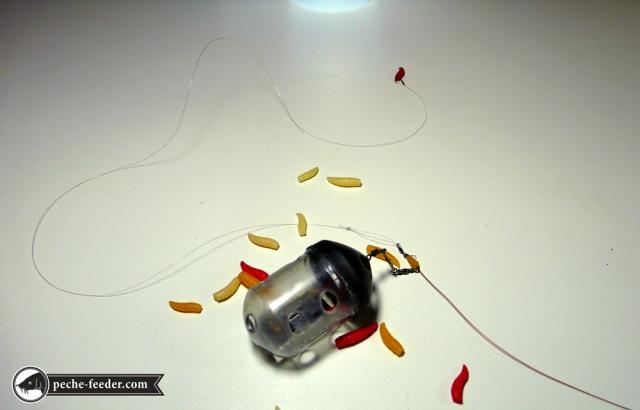 simulation du montage feeder simple avec asticots 2