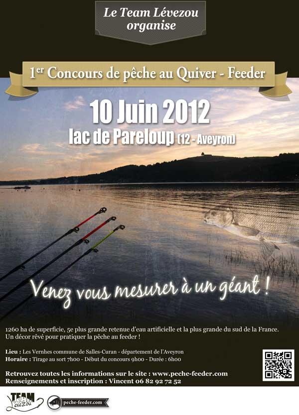 Concours de pêche au quiver à Pareloup
