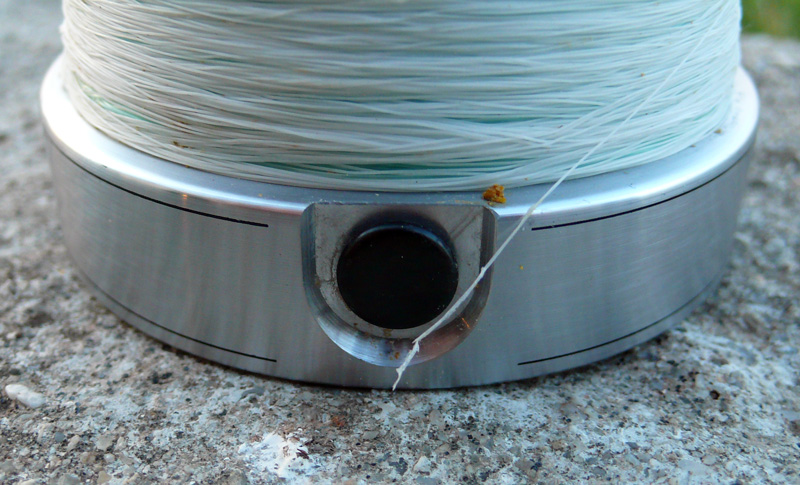 nanofil rupture sur le line-clip du moulinet