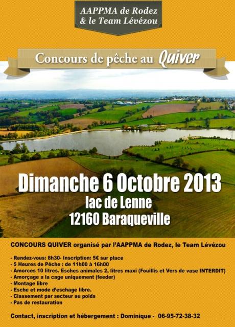 Concours de pêche de Baraqueville