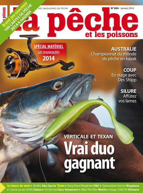 La pêche et les poissons n°824 - Janvier 2014