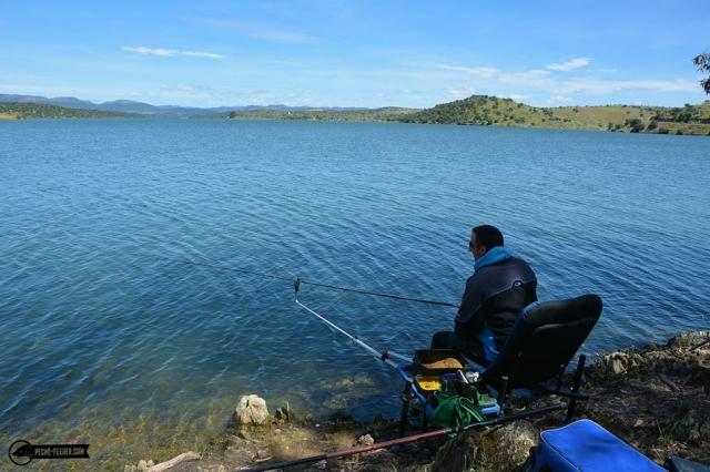 Pêche au feeder en Estrémadure