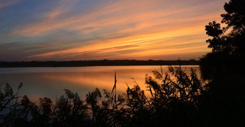 Photo de Levé du soleil sur le Marais d'Orx