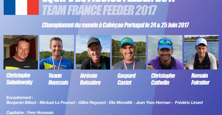 Photo de Equipe de France feeder 2017  : en route pour le Portugal !