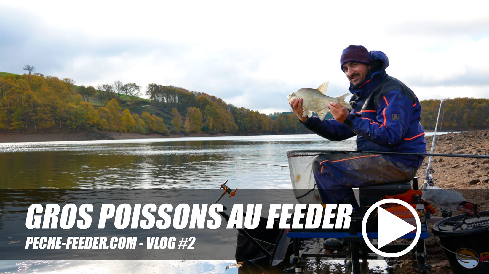 Photo de Gros poissons au feeder – Pêche feeder VLOG #2