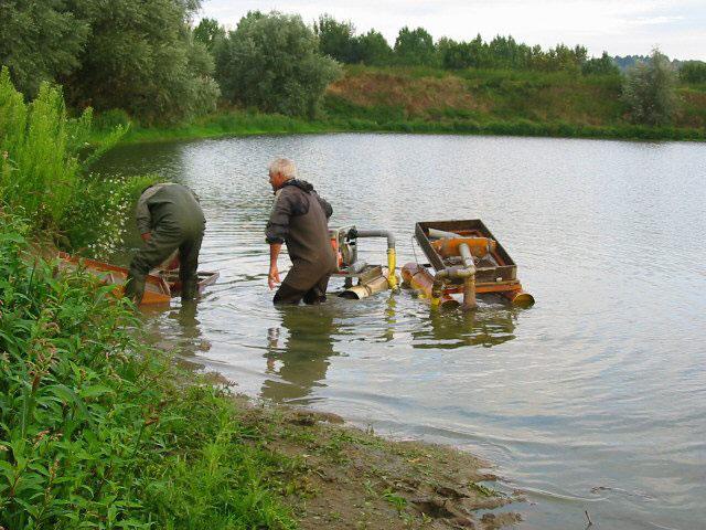 Méthode mécanique de ramassage du fouillis
